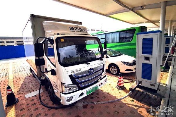 城配轻卡'油换电'电动车有哪些优缺点?卡友:路权大、成本低是关键