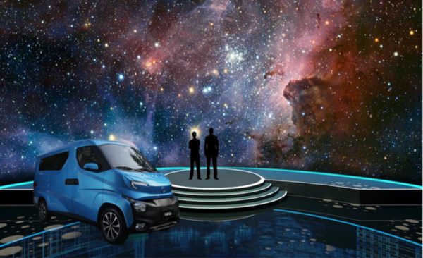 《阿凡达》般的视觉盛宴:飞碟汽车带你走进卡车界潘多拉星球