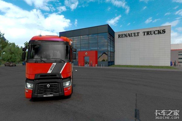 竟在卡车模拟游戏里发布全新车型雷诺这行为堪称行业首次!
