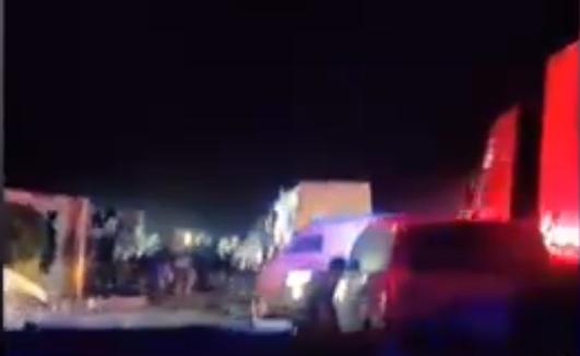已致11死!沈海高速大货车与大客车相撞