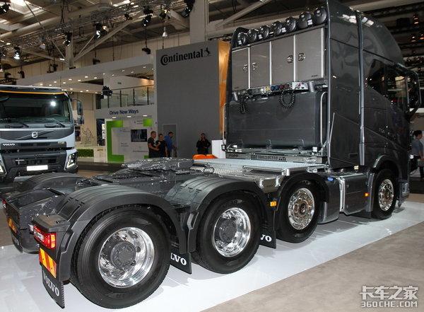 堪称工业级艺术品―沃尔沃FH16750干线大件运输车