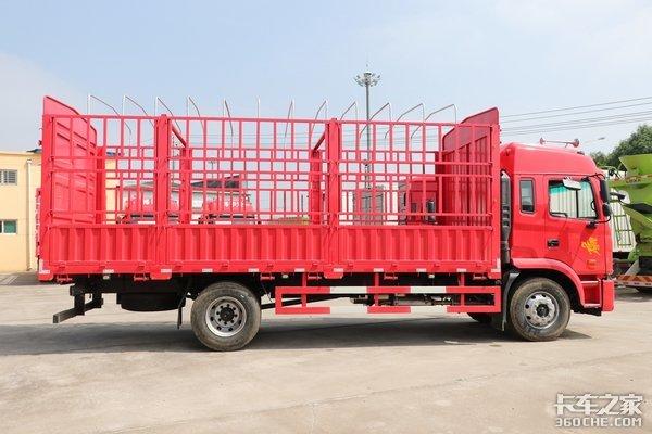 全是6缸发动机不到16万就可入手这四款6米8载货车超值吗?