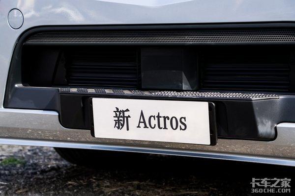 电子后视镜、国六b顶配新Actros详解