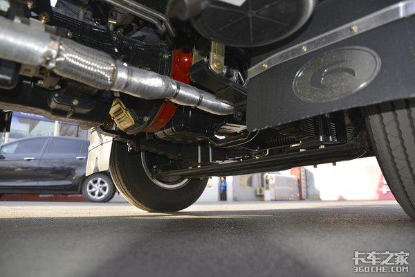 全柴4B2配万里扬带副变速箱这台时代H2自卸车太实用