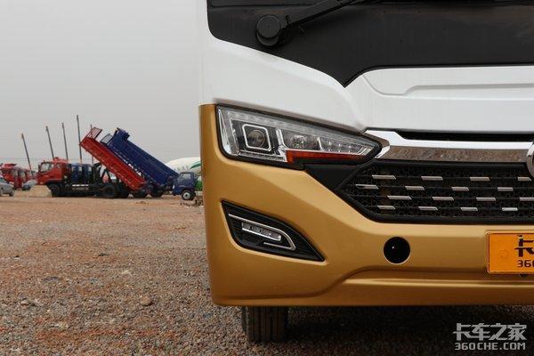 客车模样的黄牌载货车能装下9吨多!东风超龙你见过吗?
