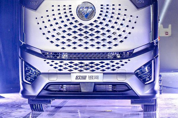 580马力+AMT未来科技化设计配置高端欧曼银河全新高端重卡图解