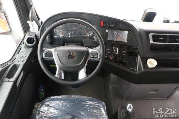 500马力以上牵引车盘点全都搭载AMT变速箱这4款你怎么选