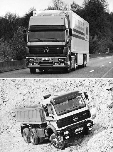 出道即巅峰款款皆经典品味奔驰旗舰卡车ACTROS的故事