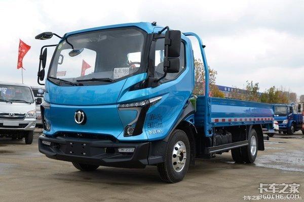 """国产卡车外观设计刮起""""科幻风""""力求符合当下年轻化的卡友审美需求"""