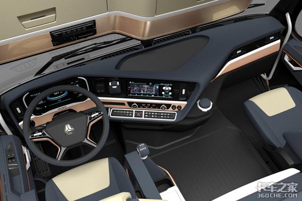 全新重汽TH7�挠�版即将问世是否能成为智能牵引车佼佼者?