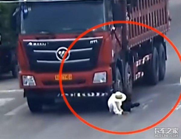 运输途中意外状况频发货车司机行车时警惕这3类人群