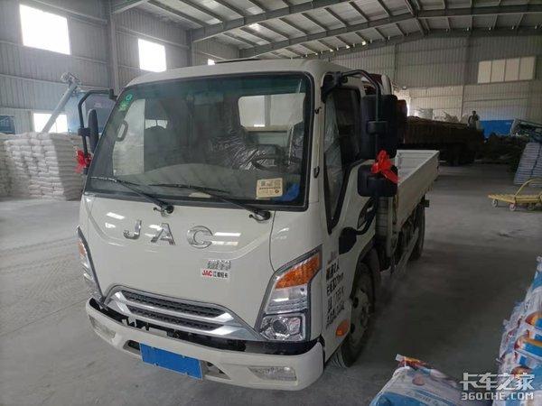 老板亲自挑选送货车江淮新康铃J3果然不失所望