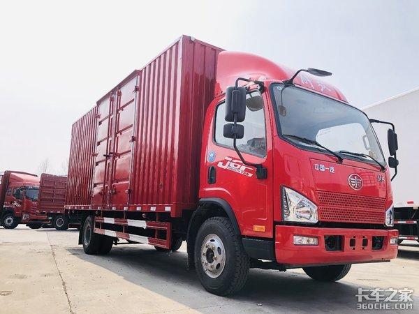零担普货运输皆可!解放J6F5.2米载货车实力之选
