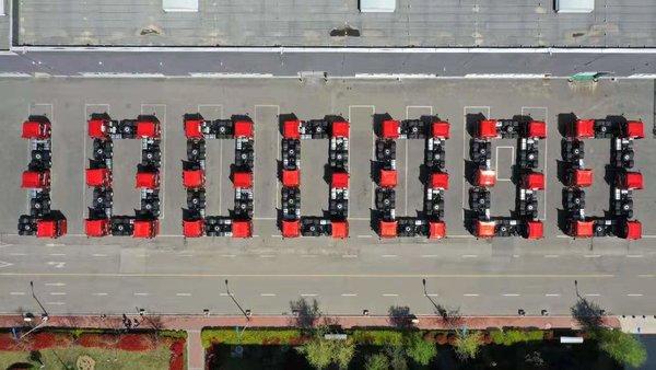 六载同骋,感恩有你!即墨工厂生产100万辆暨用户交车仪式成功举行!
