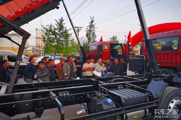 临沂福通福田瑞沃8×2国六工程车上市品鉴会