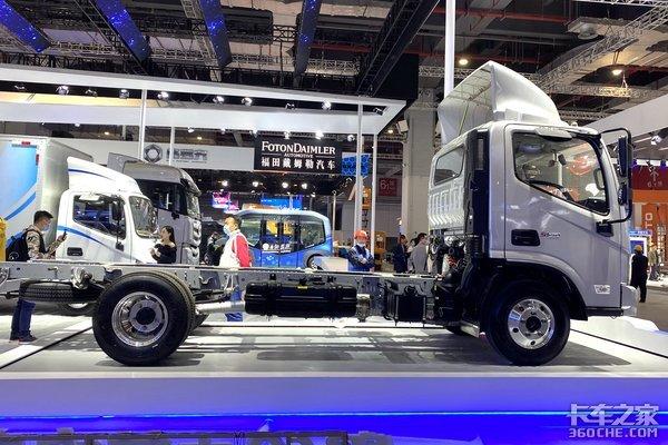 铝合金车架+复合材料板簧这台1.9吨重的欧马可怎么样?