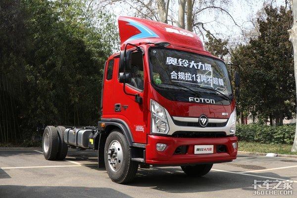 满足国六还能合规拉10吨你们想要的重载合规5米2载货来了