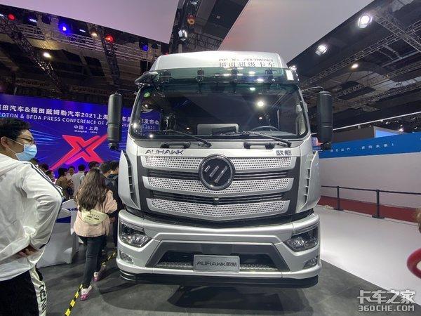 全新LOGO220马力AMT变速器配气囊桥欧航RPRO超级卡车亮相上海车展