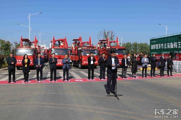 豪沃轻卡携手天中麦客助力麦客收获全国