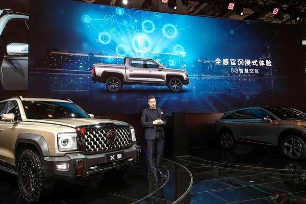 长城全尺寸皮卡2021上海车展全球首发
