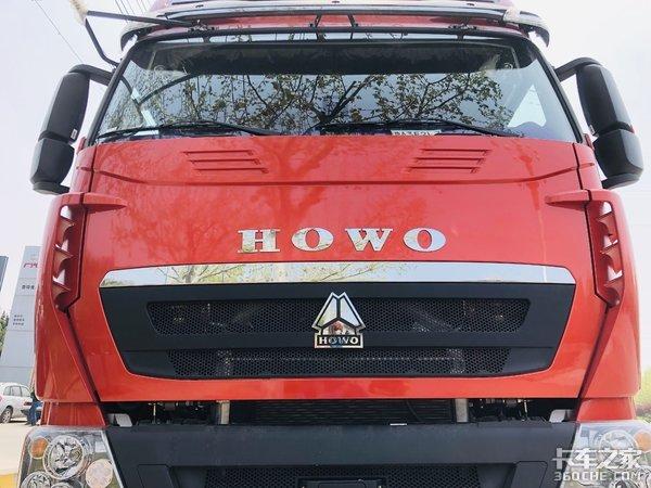 500马力的中国重汽HOWOT7H国六牵引车跑西南专线正合适