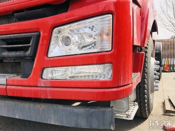 总高度不超3m汉风G5牵引车专注砂石料运输