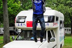 边走边玩到欧洲 中国房车第一人自驾游