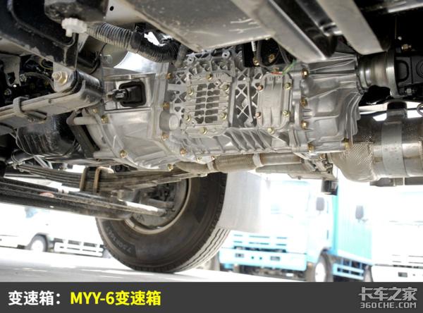 轻卡导流罩就属它最大装高功率4K发动机这台庆铃轻卡很省油