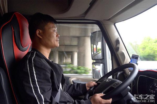 最美长头跟车纪实卡友唐师傅与江淮跨越V7相伴追梦幸福