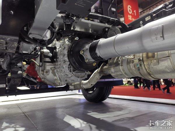 """超级""""轻卡""""有多轻?这辆欧马可S1底盘自重仅仅只有1.92吨"""