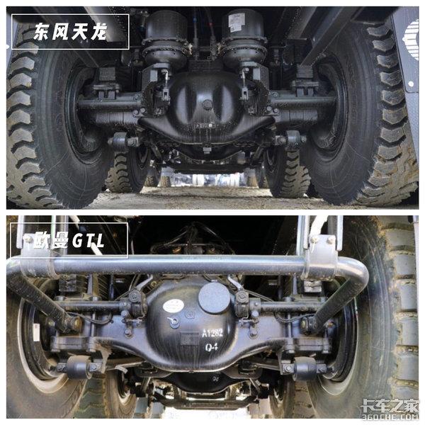 城建渣土运输车东风天龙比拼欧曼GTL