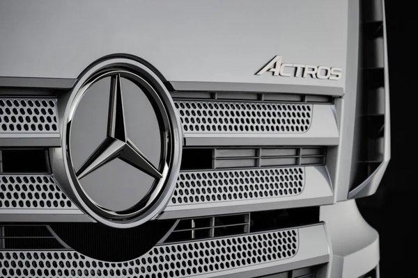 一步到位满足国六b排放标准梅赛德斯-奔驰新Actros多项技术升级