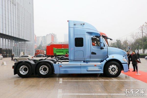 高时效超舒适低运营成本详解干线物流新霸主江淮跨越V7