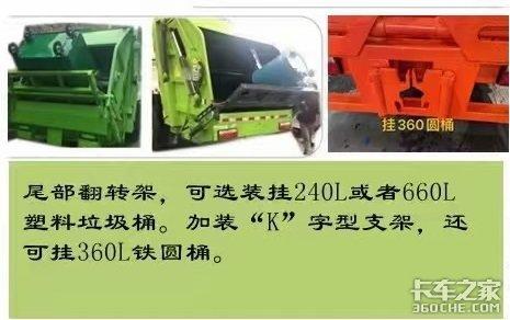 垃圾分类少不了后装压缩式垃圾车介绍