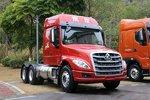 自重仅7.9吨 LNG长头牵引车乘龙T5图解