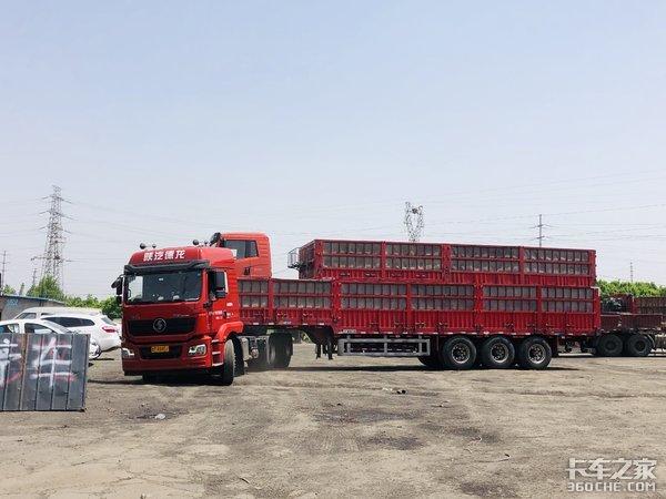 使用子母车从事煤炭运输卡友:能省则省