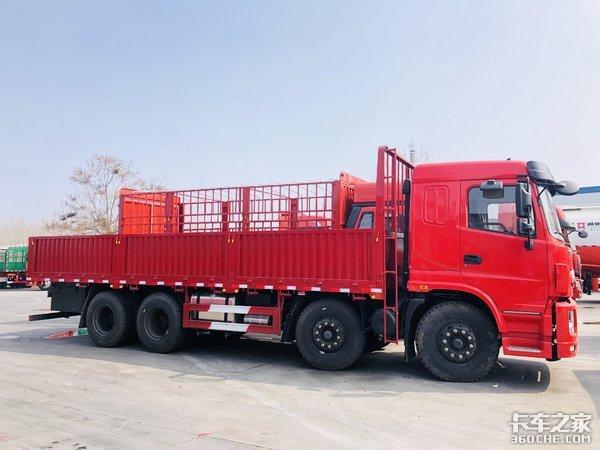超短轴距!三环昊龙8x4载货车优势显著