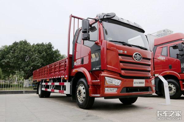 九款6米8载货车大集锦全都是搭载6缸机!