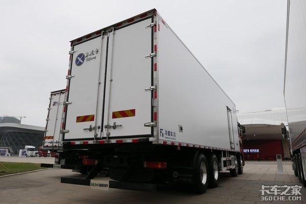 大马力气囊桥独立冷机JH6冷藏车能满足冷链运输要求吗?