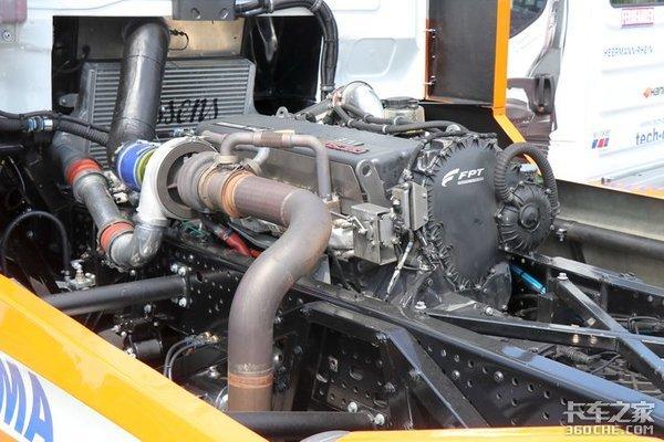 现实版的速度与激情依维柯S-wayR系列竞速赛车详评