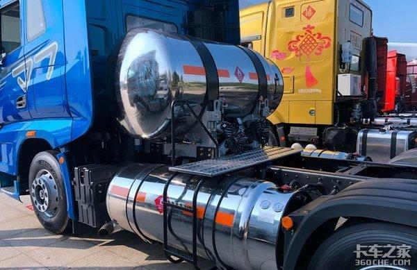 干线物流运输哪家强解放J7VS天龙新旗舰KXLNG车型比拼