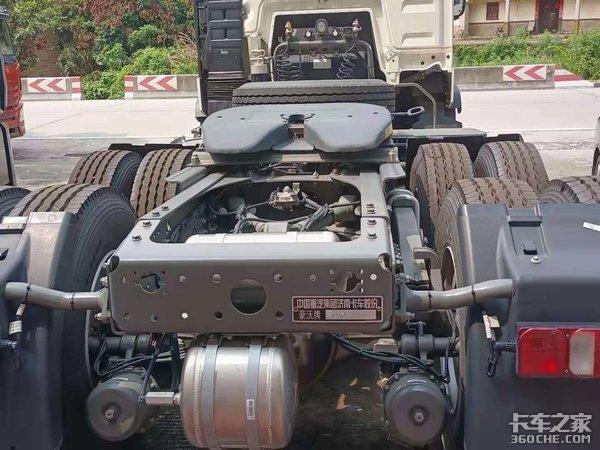 国六!460马力16挡!拉煤倒短之利器重汽豪沃TX