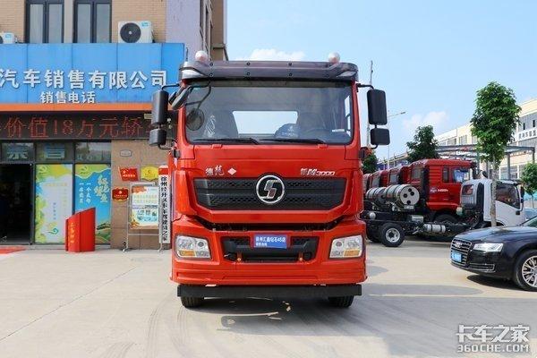 中短途回本利器!国六LNG陕汽德龙M3000超强实力
