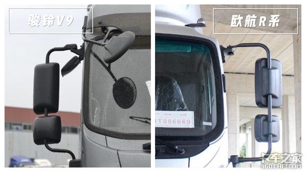 苗木运输该选谁?江淮骏铃V9对比福田欧航R系