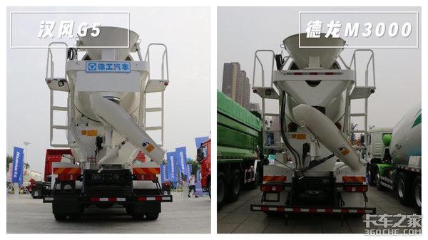 国六LNG与柴油8X4搅拌车大PK你更看好徐工汉风G5还是陕汽德龙M3000