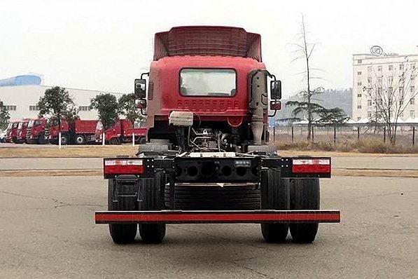 南骏多款小三轴载货车来了!还搭载国六玉柴动力+25吨公告
