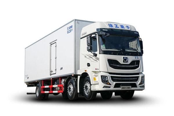 徐工高端6米8载货车来了!并且装配国六玉柴动力