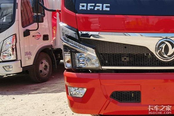 匹配黄金组合三大件图解福瑞卡F6厢式载货车