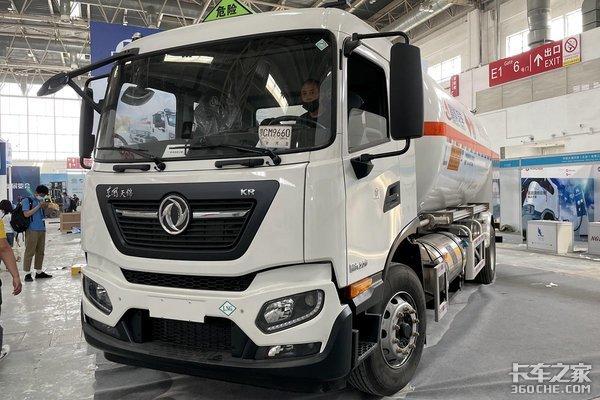 6米8也会普及LNG车型?燃效成本低+排放更清洁+后处理系统简单