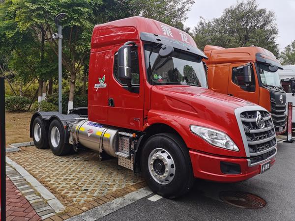 国际比赛显身手乘龙T7智慧物流牵引车将参加2021世界智能驾驶挑战赛